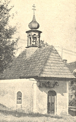 Návesní kaple v Posudově uFrymburka