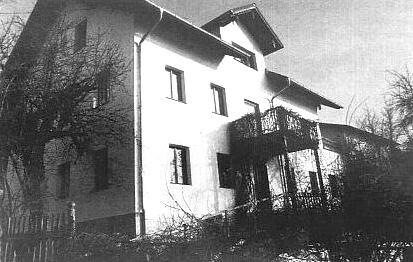 Dům v Rimbach-Lichtenecku, kde psal