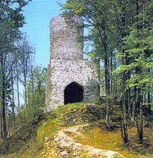 Zřícenina hradu Lichtenegg u Rimbachu