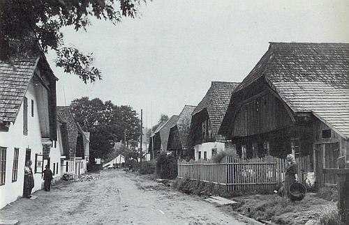 Kunžvart na snímku z doby kolem roku 1930