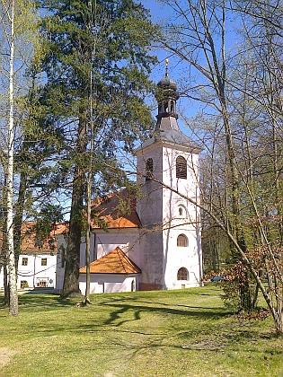 Kostel Nejsvětější Trojice v Libníči