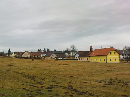 Pyhrabruck při hraničním přechodu u Nových Hradů