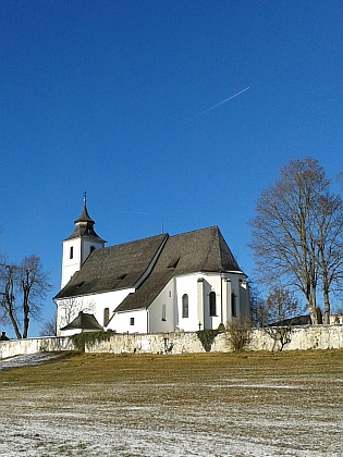 Kostel sv. Víta a fara ve Zbytinách
