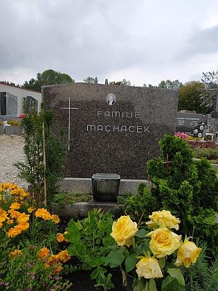 Hrob v Ampflwangu im Hausruck