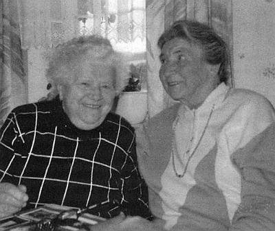 Se svou maminkou na  snímku z Ampflwangu