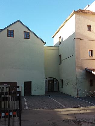 Rodný dům matčin v českobudějovické Hradební ulici čp. 3