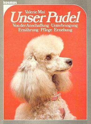 Její příručka o pudlech z roku 1985 s věnováním