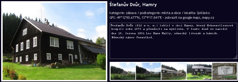 """Prezentace """"Štefanova dvora"""", jak je po rekonstrukci nazýván jeho rodný dům, na webových stránkách směnárny RetourEX"""
