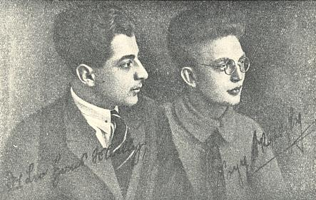 Se Seppem Skalitzkym v roce 1926