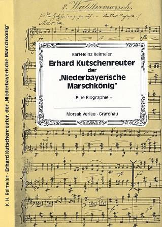 Obálka (1989) knihy Karla Heinze Reimeiera vydané nakladatelstvím Morsak v Grafenau o skladateli slavné písně s reprodukcí originálu její partitury