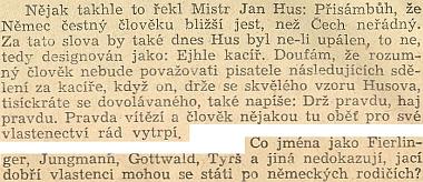 """Jedna z pasáží Marešových reportáží z """"periferie republiky"""""""