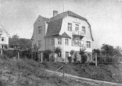 V této prachatické vile začal roku 1933 vycházet časopis Mein Böhmerwald