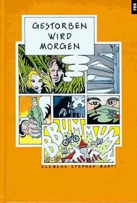 Obálka jedné z jeho z knih (1994, Rex Verlag, Stutgart)