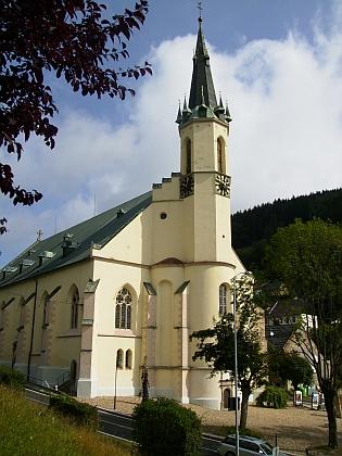 Kostel sv. Jáchyma v Jáchymově