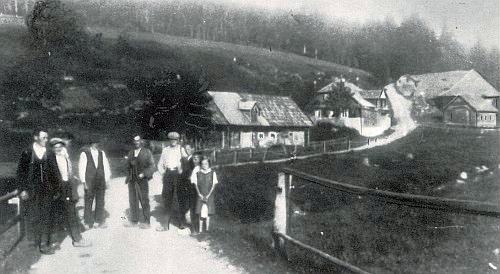 Někdejší Hollerův mlýn v Dolním Kaltenbachu