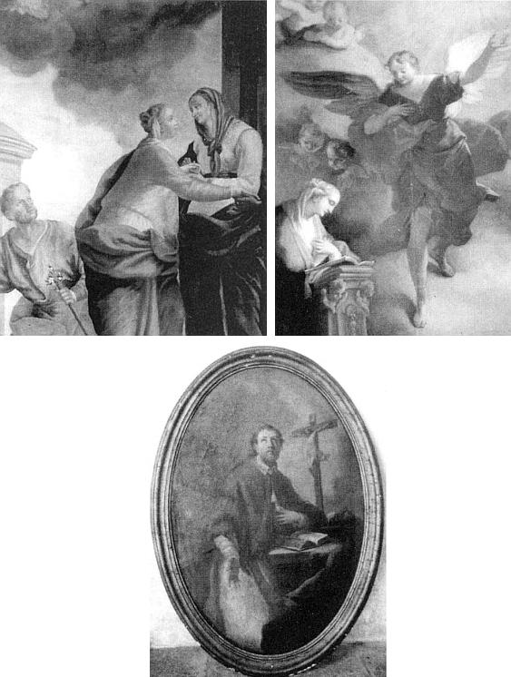 Některé obrazy ze zničeného kostela v Ondřejově jsou uchovávány ve vyšebrodském klášteře a pocházejí původně od Daniela Grana, jejich už dříve spletité osudy zmiňuje Soupis památek v politickém okresu krumlovském od Mareše a Sedláčka z roku 1918