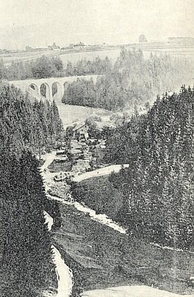 Josefstal u Vimperka na fotografii z r. 1923