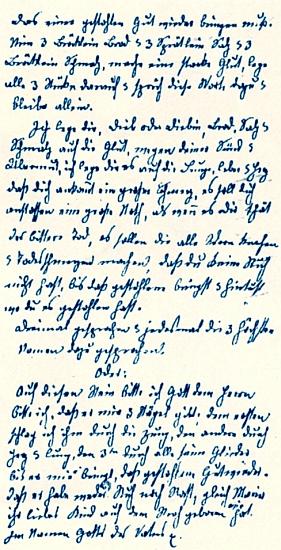 Z jeho rukopisných záznamů, pořízených někdy kolem roku1870