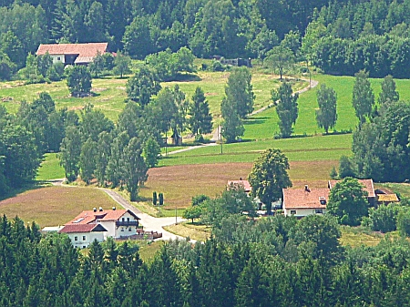Rodný Reifberg u Frauenau