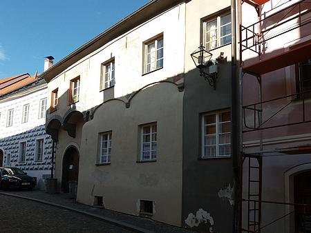 Dům čp. 149 v Neumannově ulici na fotografii z roku 2018