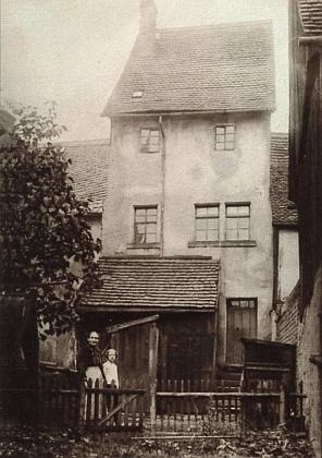 Rodný dům v saském Ernsthalu