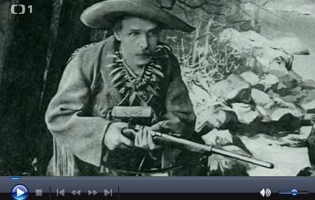 Reportáž České televize z cyklu Toulavá kamera o výstavě věnované Karlu Mayovi  v pražském Náprstkově muzeu