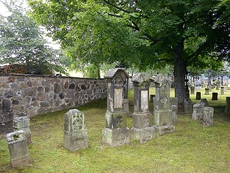 Hřbitov v Želnavě v roce 2011