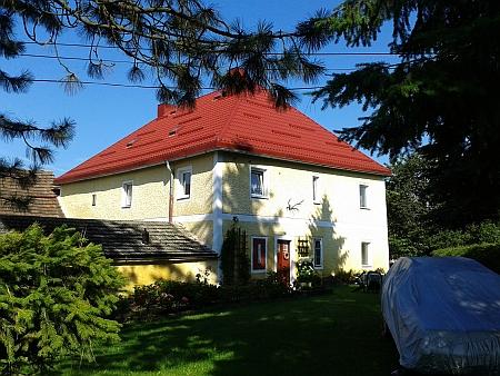 Dům čp. 34 v Nádražní (dnes Jiráskově) ulici v Horní Plané