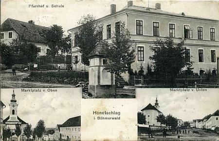 Hodňov na starých pohlednicích