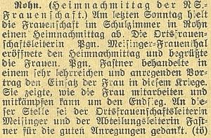 Novinové zprávy vypovídají o jeho i manželčině zapojení do nacistického hnutí
