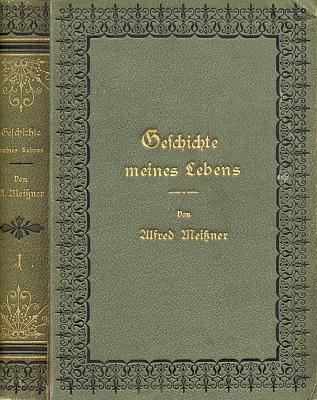 Vazba (1884) prvního svazku jeho pamětí