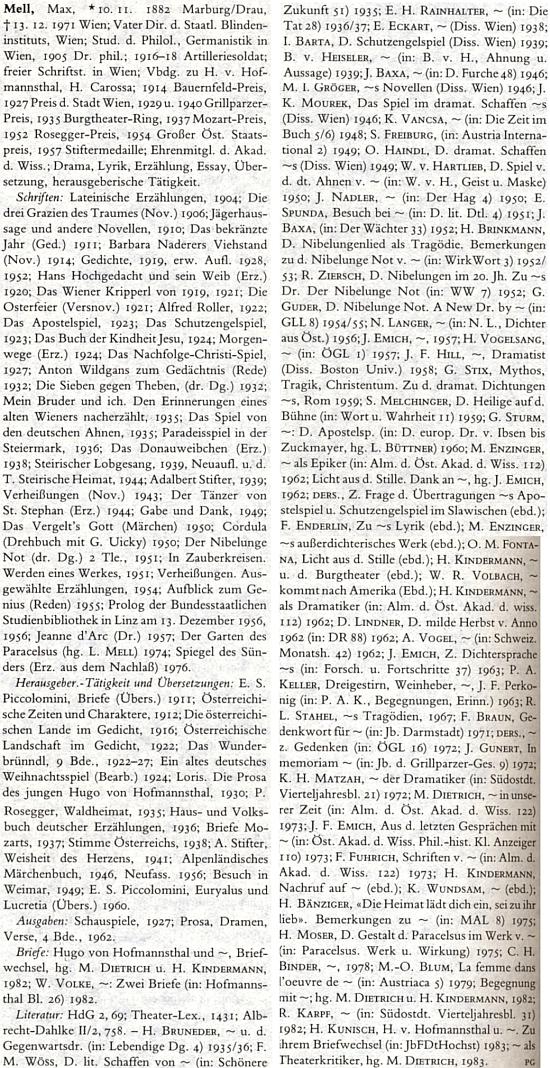 Takto obsáhlý text je mu věnován v německém literárním lexikonu