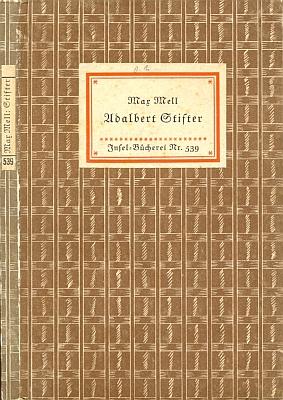 Vazba (1939) jeho knihy v proslulé edici Insel-Bücherei v Lipsku