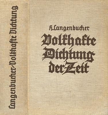 O něm ve slovníku spisovatelů, uznávaných nacizmem