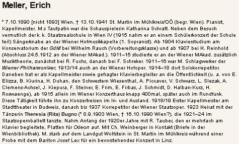 Jeho heslo v rakouském hudebním lexikonu