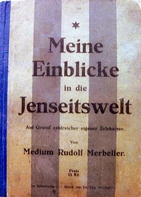Obálka (1928) jeho knihy, vydané vlastním nákladem