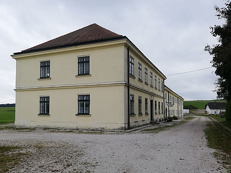 Staniční budova koněspřežky v Kerschbaumu
