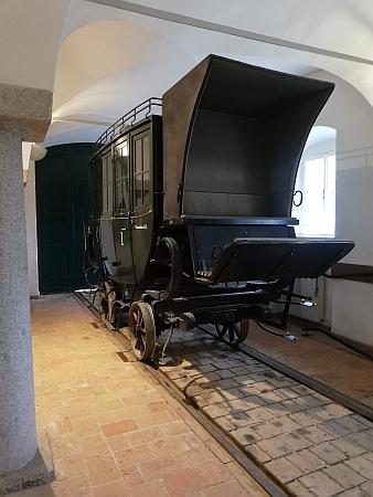 Staniční budova koněspřežky v Kerschbaumu je dnes sídlem muzea