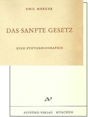 Výřez obálky a titulní list (1959) knihy vydané vmnichovském nakladatelství Afstieg