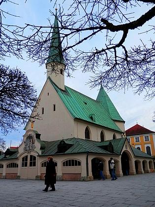 Milostná kaple v Altötting