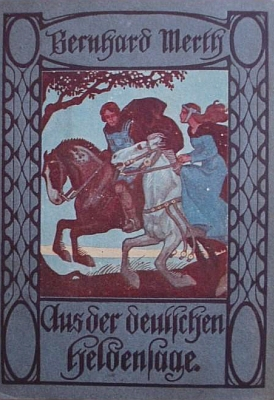 Obálka jeho knihy pro mládež (1920, Österreichischer Schulbuchverlag)