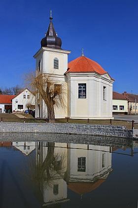 Kaple sv. Václava a Vojtěcha v jeho rodné vsi Ostrov u Stříbra, dnes části obce Kostelec v okrese Tachov