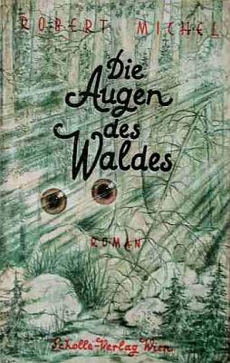 Obálka (1946) tohoto těsně poválečného vydání jeho pozdního románu ve vídeňském nakladatelství Scholle