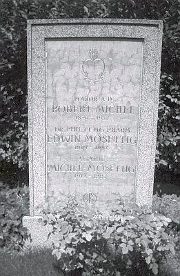 Hrob ve vídeňském Grinzingu