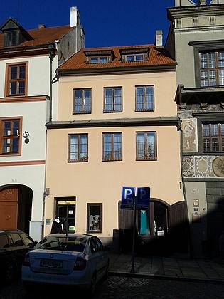 Rodný dům čp. 12 na prachatickém Velkém náměstí