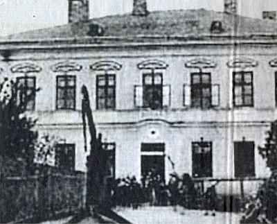 Škola v Mutěníně, kde učil