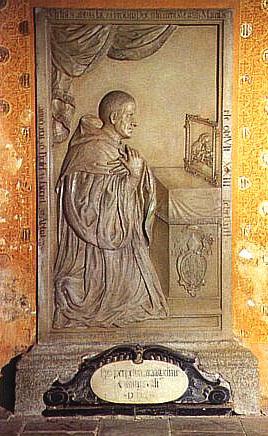 Náhrobek ve vyšebrodském klášteře