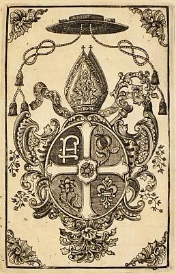 Frontispis v knihách, ve kterých figuroval opat Mickl jako dedikant