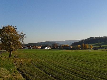 Chmelná nedaleko rodného Brloha, jeho první učitelské působiště