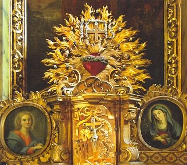 ... a tabernákl jeho hlavního oltáře (viz i Franz Hoffelner a Wilhelm Richter)